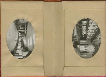 Paquebot Normandie - Carnet de photos petit format anonyme - Série 1 - intérieur