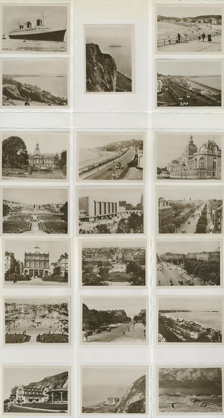 Paquebot Normandie - Carnet de photos petit format - Editeur : LA CIGOGNE - PHOTOS 1 A 20